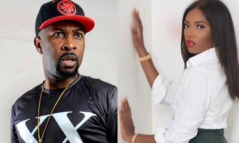 Tiwa Savage and Ruggedman