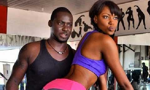 Yvonne Nelson and Chris Attoh