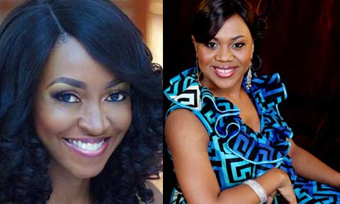 Stella Damasus and Kate Henshaw