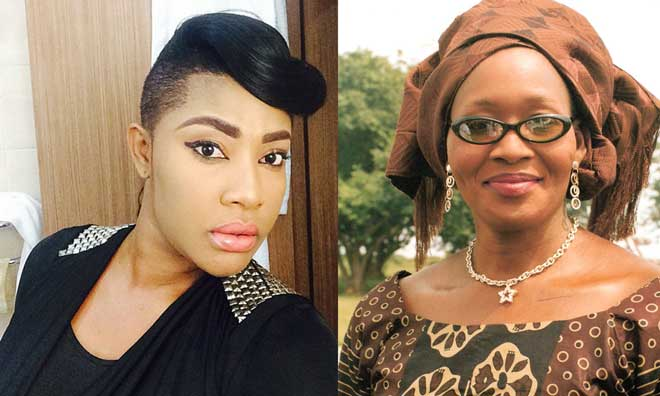 Angela Okorie and Kemi Olunloyo