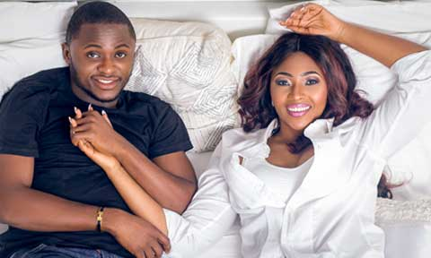 Lilian Esoro and Ubi Franklin