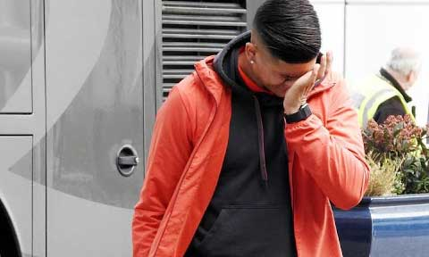 Man Utd's Marcos Rojo In Tears After His Brother Was Killed In Argentina