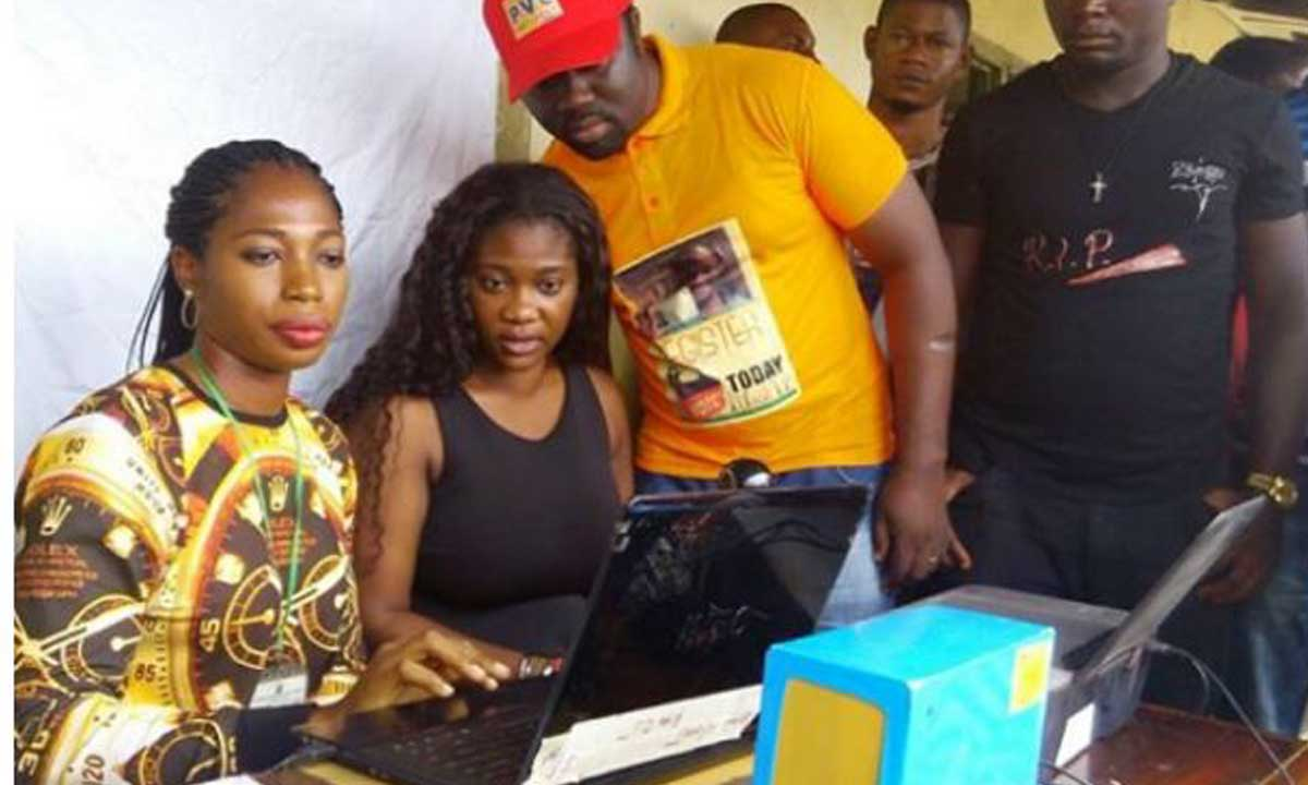 Mercy Johnson Performs Her First Political Obligation (Photos)