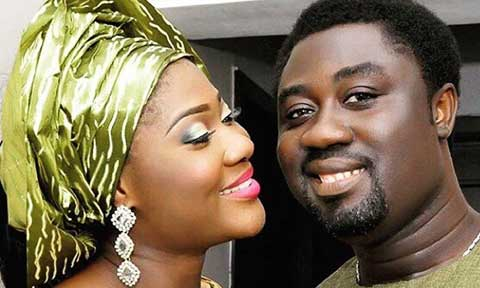 Mercy Johnson and Prince Okojie