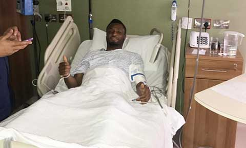 Photos: John Mikel Obi Undergoes Successful Surgery In England