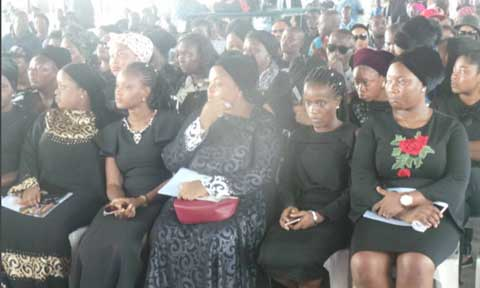 First Photos From The Service Of Songs For Late Actress Mojisola Olaiya