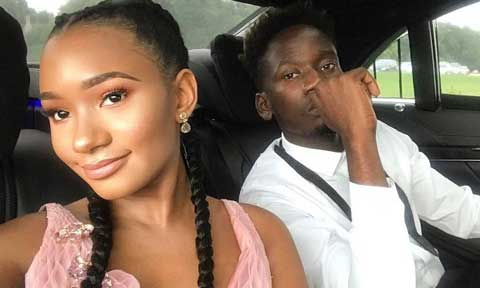 Mr Eazi Defends Temi Otedola From Trolls Accusing Her Of Bleaching