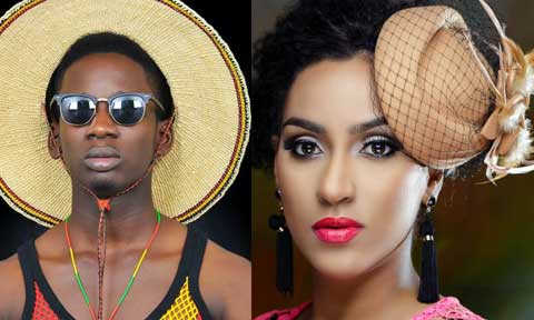 Juliet Ibrahim & MR Eazi