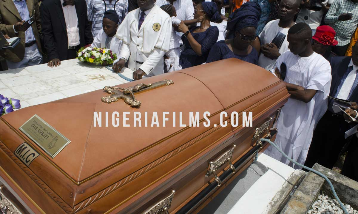 WATCH OJB JEZREEL AS HIS BODY LEAVES FOR IKOYI CEMETERY