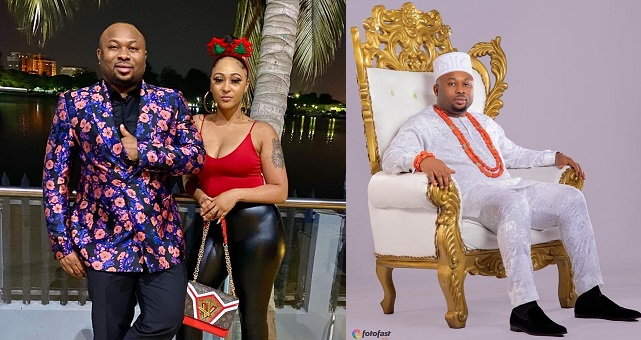Olakunle Churchill and Rosy Meurer