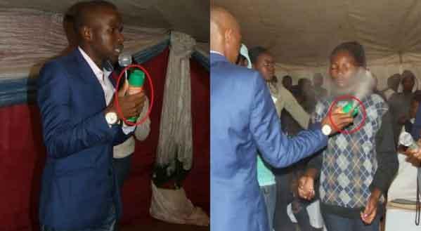 South African pastor, Lethebo Rabalago