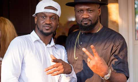 Psquare Family Crisis Saga: Peter Okoye Absent At His Twin Brother