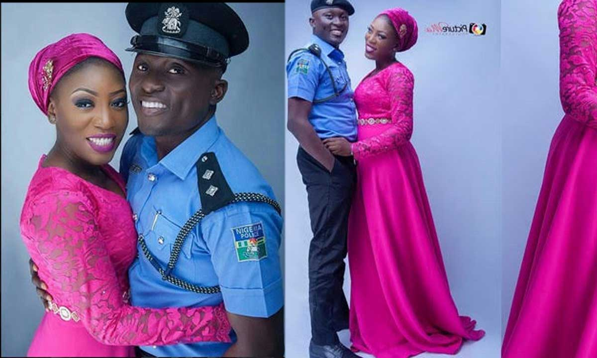 Meet The Nigerian Celebrity Police Officer Ladies Are Dying To Have Photos