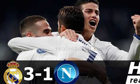 Real Madrid Dispatch Napoli
