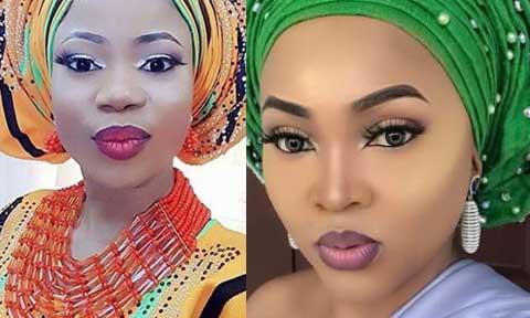 Mercy Aigbe and  Seyi Edun