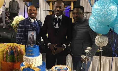 Amidst His Sex Scandal, Apostle Suleiman Celebrates