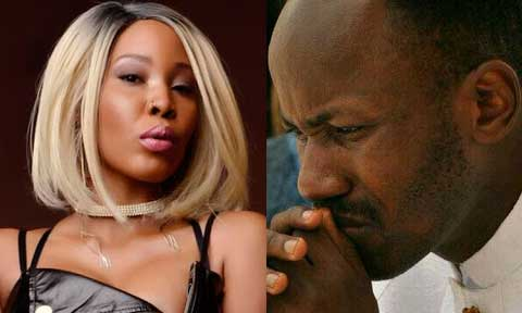 Apostle Johnson Suleman and Stephanie Otobo