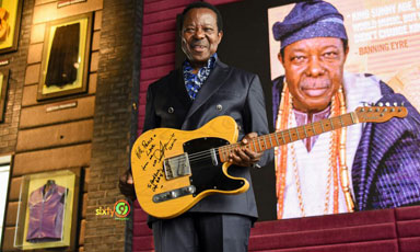 King Sunny Ade's Prized Fender Guita Sold For N52M