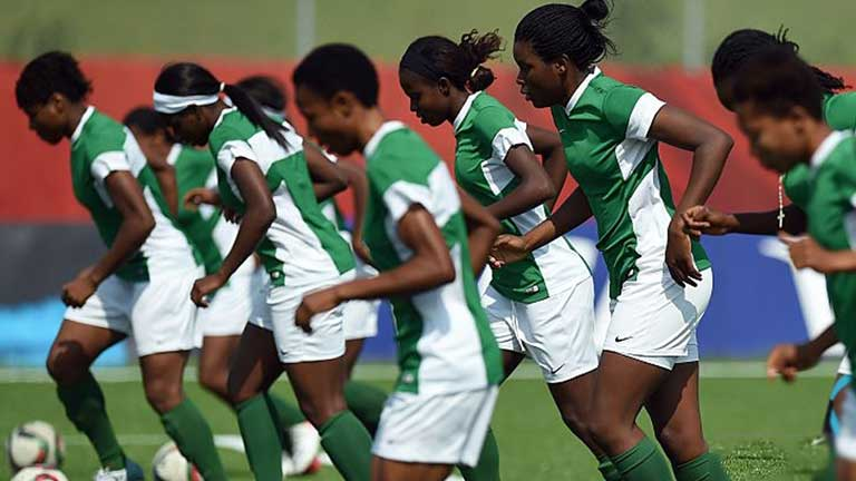 Super Falcons Players