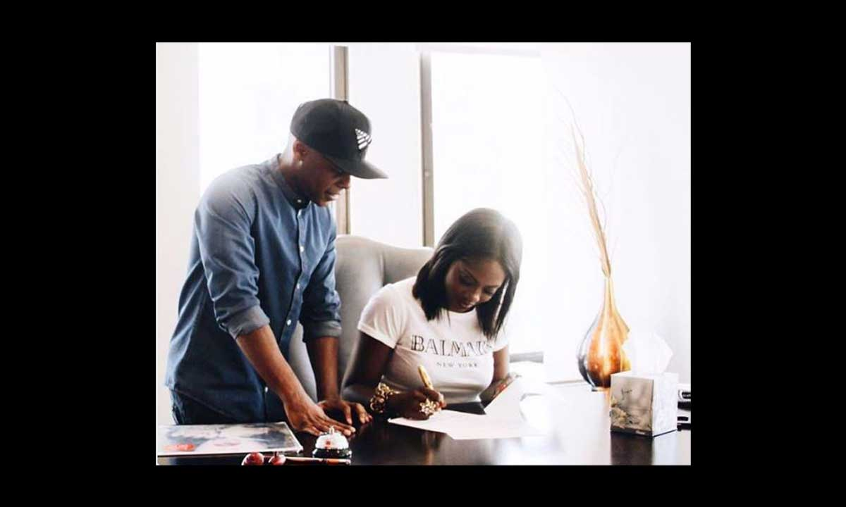 Tiwa Savage signs with Roc Nation