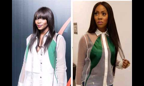 Genevieve Nnaji and Tiwa Savage
