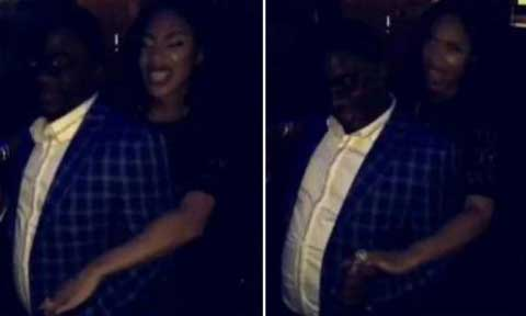 Tonto Dikeh Spotted With Another Man at Transcorp Hilton in Abuja