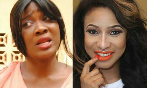 Mercy Johnson and Tonto Dikeh