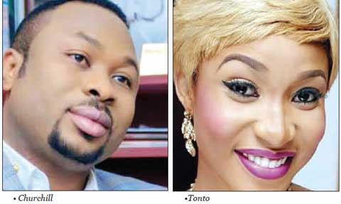 Explosive Text Messages Tonto Dikeh Allegedly Sent to Olakunle Churchill's Mom