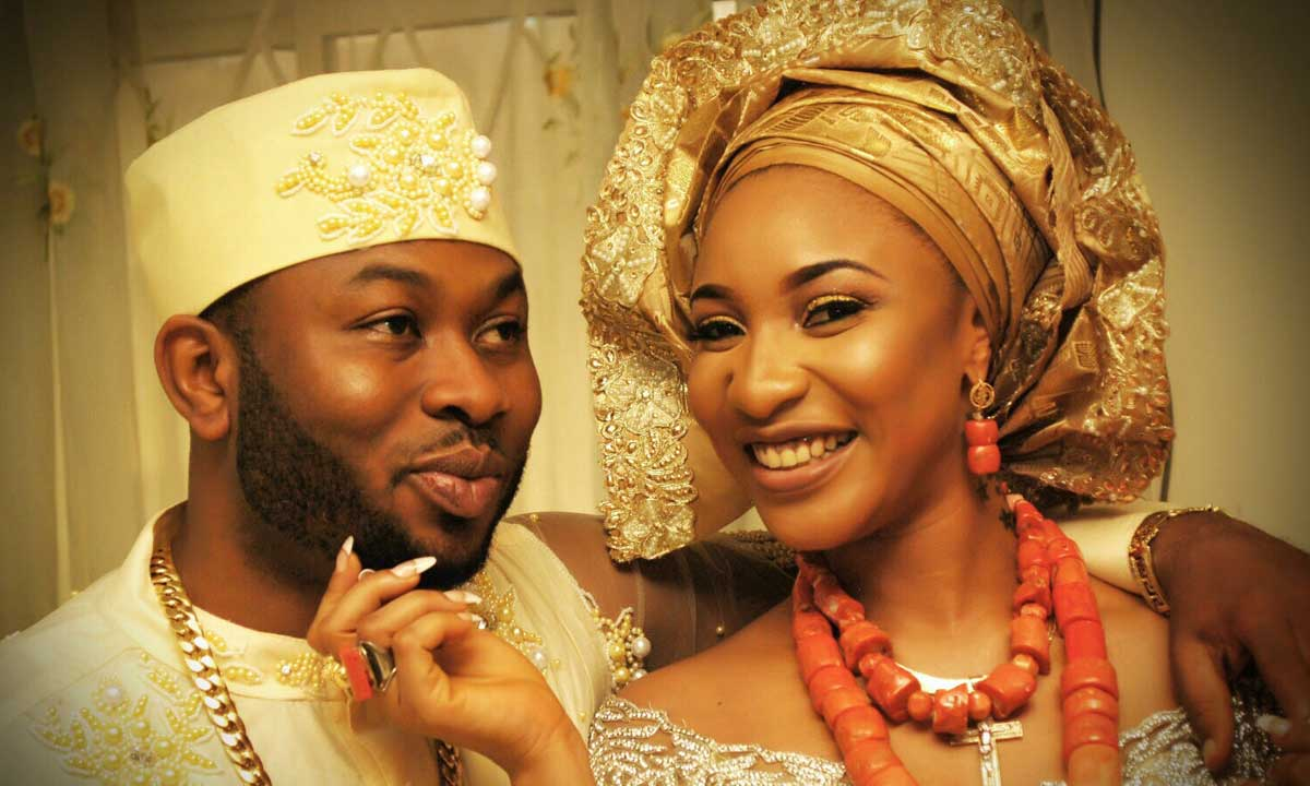 Tonto Dikeh and Churchhill