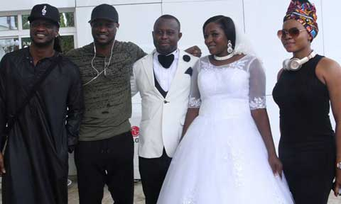 Yemi Alade, Psquare and Phyno shocked Excited Couple At Their Wedding Reception