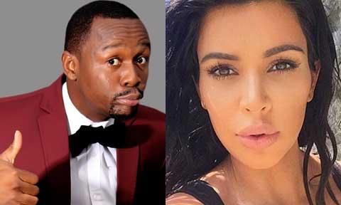 Kim Kardashian and Ushbebe