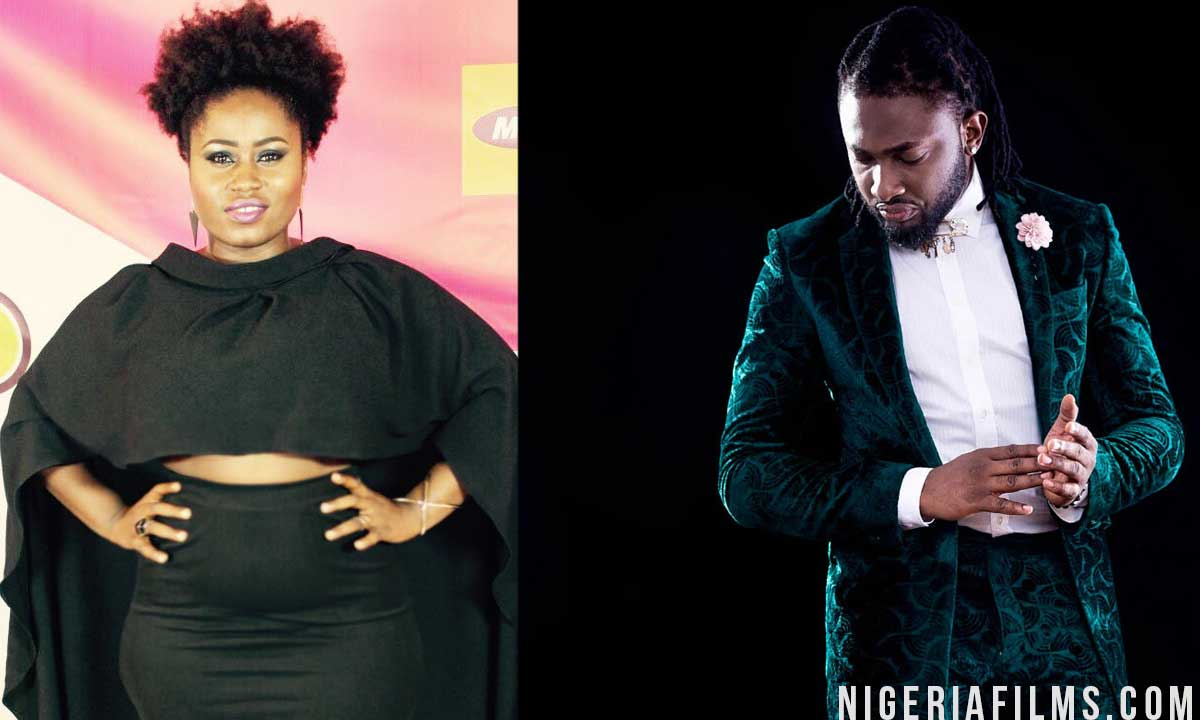 Uti Nwachukwu and actress Lydia