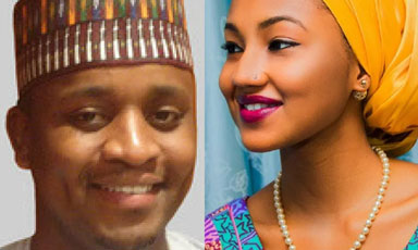 Zahra and Mohammed Indimi